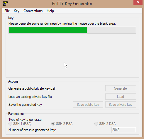 Generating a key